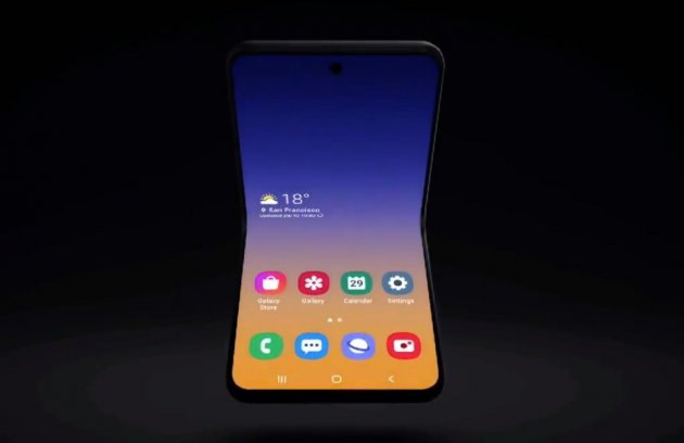 The official name Samsung Galaxy Fold 2