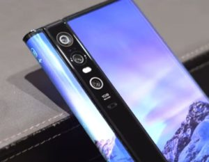 Xiaomi Mi MIX Alpha with three displays shown on video