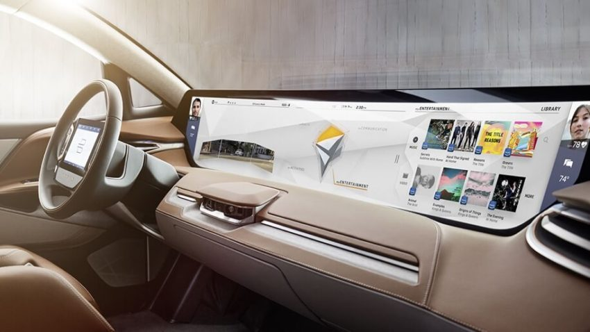 Byton intends to get around Tesla in the technological equipment of electric vehicles