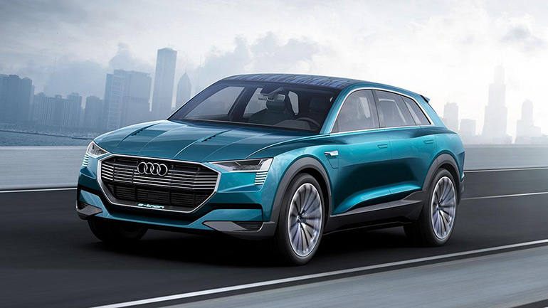 Audi struggles with problems in the production of E-tron