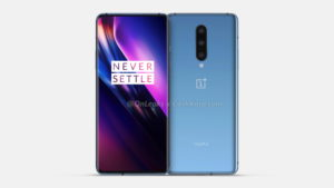 "Unexpectedly: OnePlus 8 appeared on high-quality renderings with a ""leaky"" screen and a triple camera"