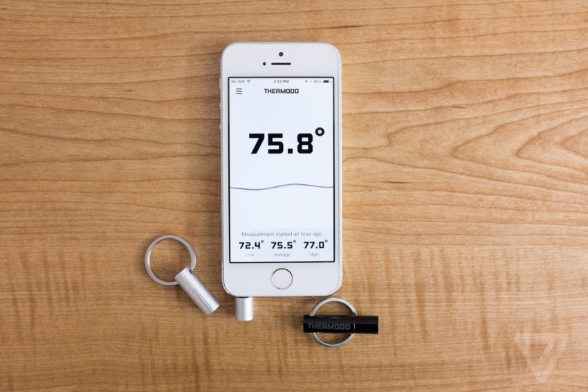 Can a smartphone measure temperature?