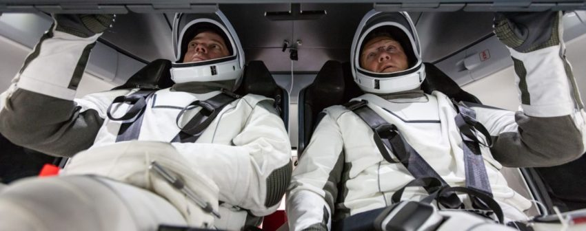 how nasa astronauts are preparing for the first flight to crew dragon