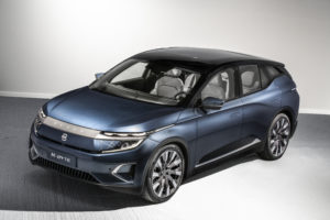 Byton introduced its first production car