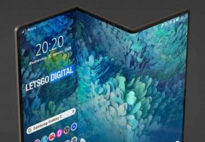 The new Samsung Galaxy Fold will be able to fold three times