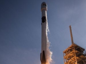 """SpaceX launched into space dozens of small satellites for the """"global Internet"""""""