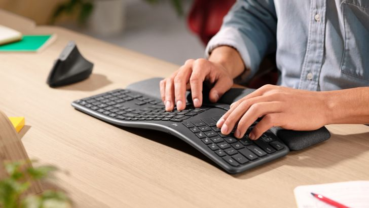 Logitech new keyboard