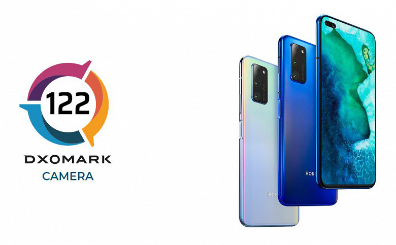 Honor V30 Pro got into the Top 3 best cameraphones