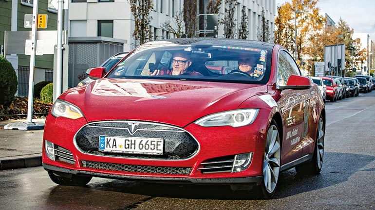 Tesla became the state car of Germany