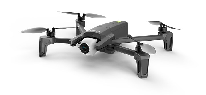 DJI Mavic Air Gets Terrible Contender - Parrot Anafi 4K 4K HDR Supported