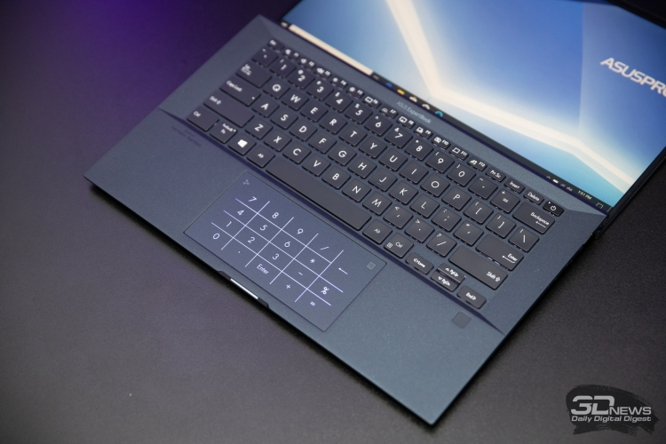 ASUS ExpertBook B9450FA touchpad