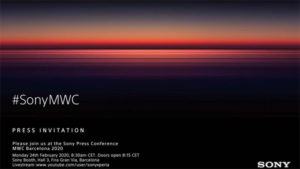 Sony will hold a presentation of new smartphones on February 24