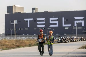 Tesla Electric Vehicle Plant in Shanghai to resume production on February 10
