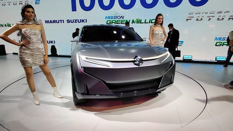 Futuro-e futuristic electric car introduced by Suzuki