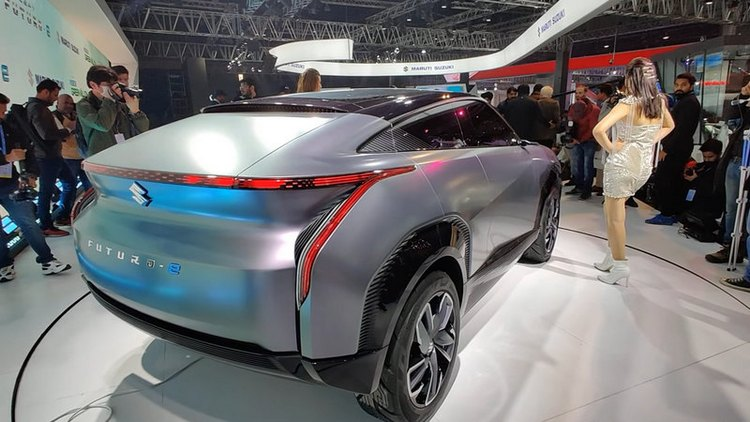 Futuristic electric car Futuro-e