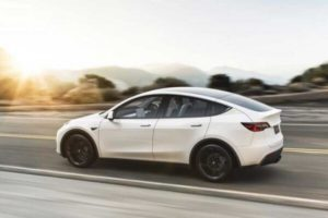 New Tesla electric car breaks world record before release
