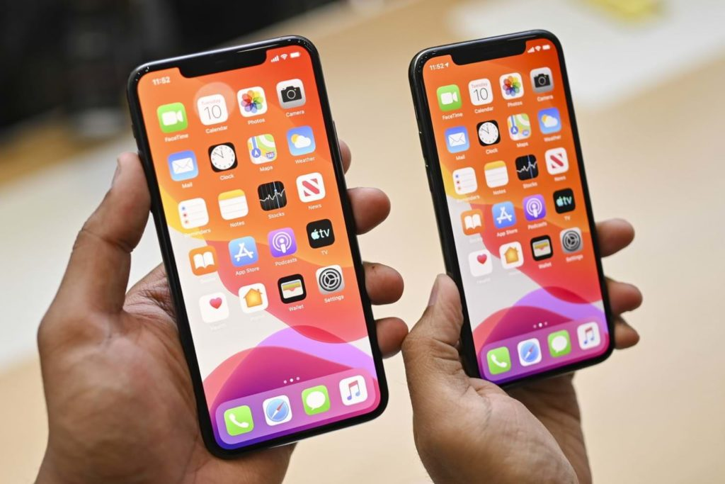 Comparison of iPhone 11 with iPhone 11 Pro