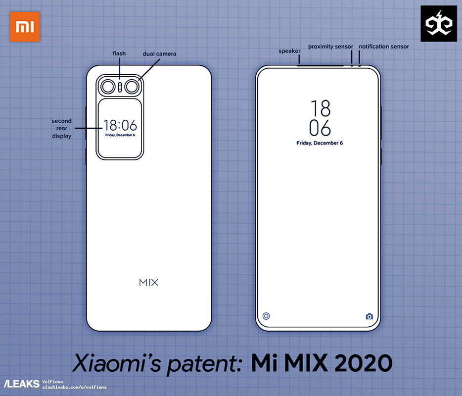 Pictures of the new Xiaomi Mi Mix smartphone appeared on the Internet