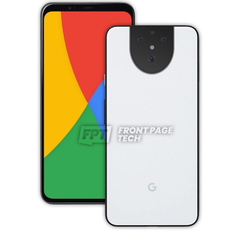 Concept of Google Pixel 5