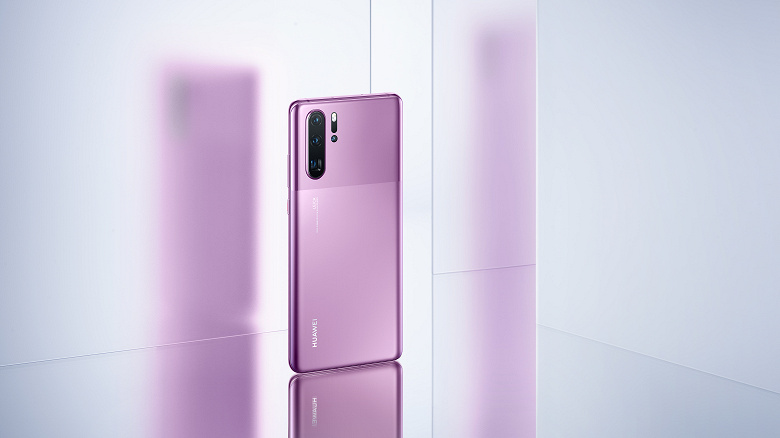The new version of the camera phone Huawei P30 Pro is presented in Russia