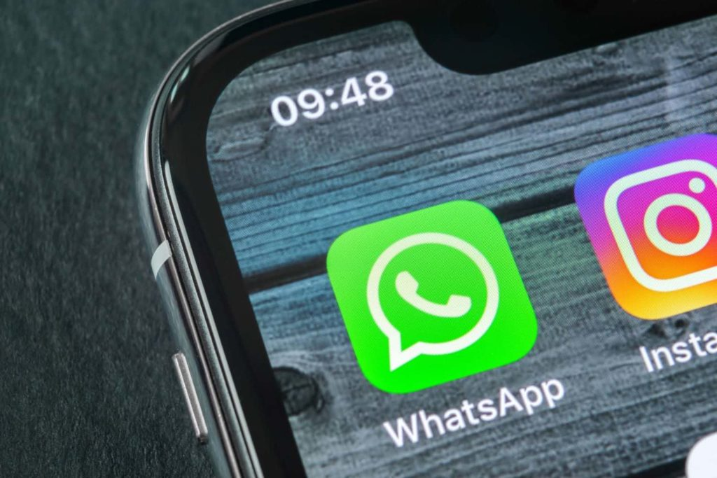 Icon of WhatsApp on the iPhone