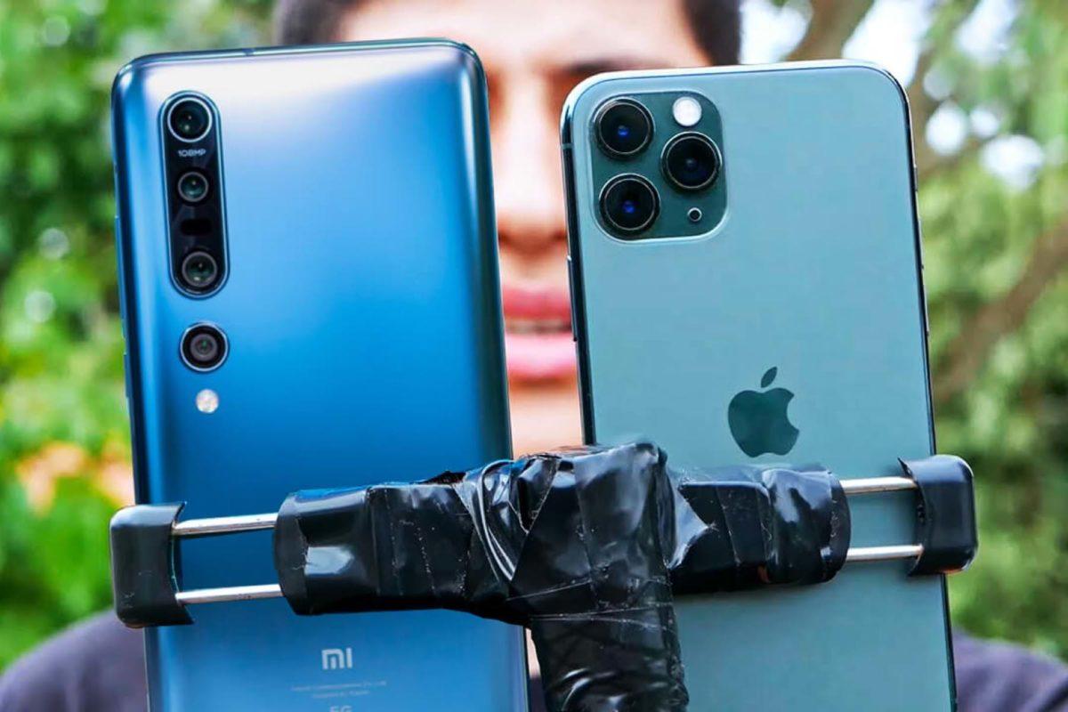 Comparison of Xiaomi Mi 10 Pro, iPhone 11 Pro and Honor V30 cameras