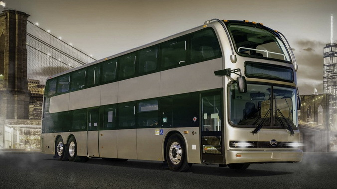 BYD electric double-decker bus C10MS
