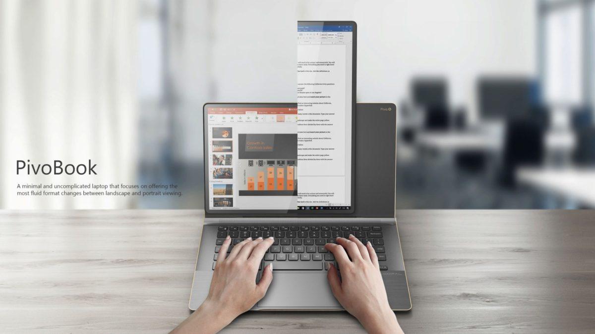 Taiwan Compal Electronics Designs PivoBook Swivel Laptop