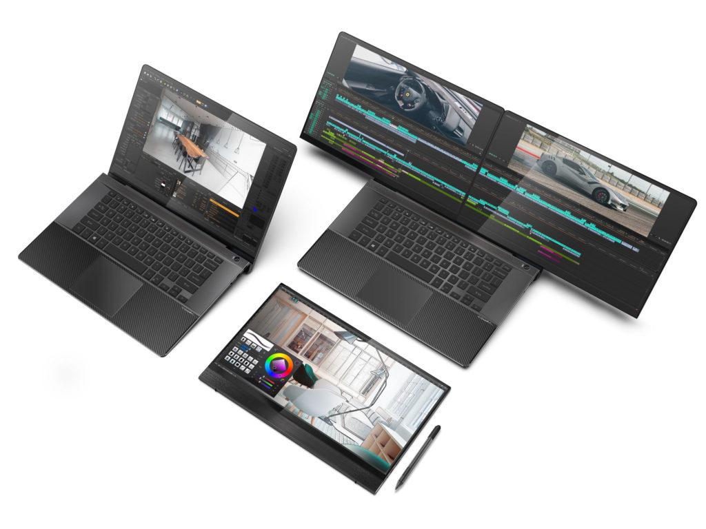 PivoBook Compal Electronics FullVision book concept