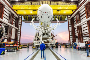 SpaceX Crew Dragon delivered to spaceport for final tests