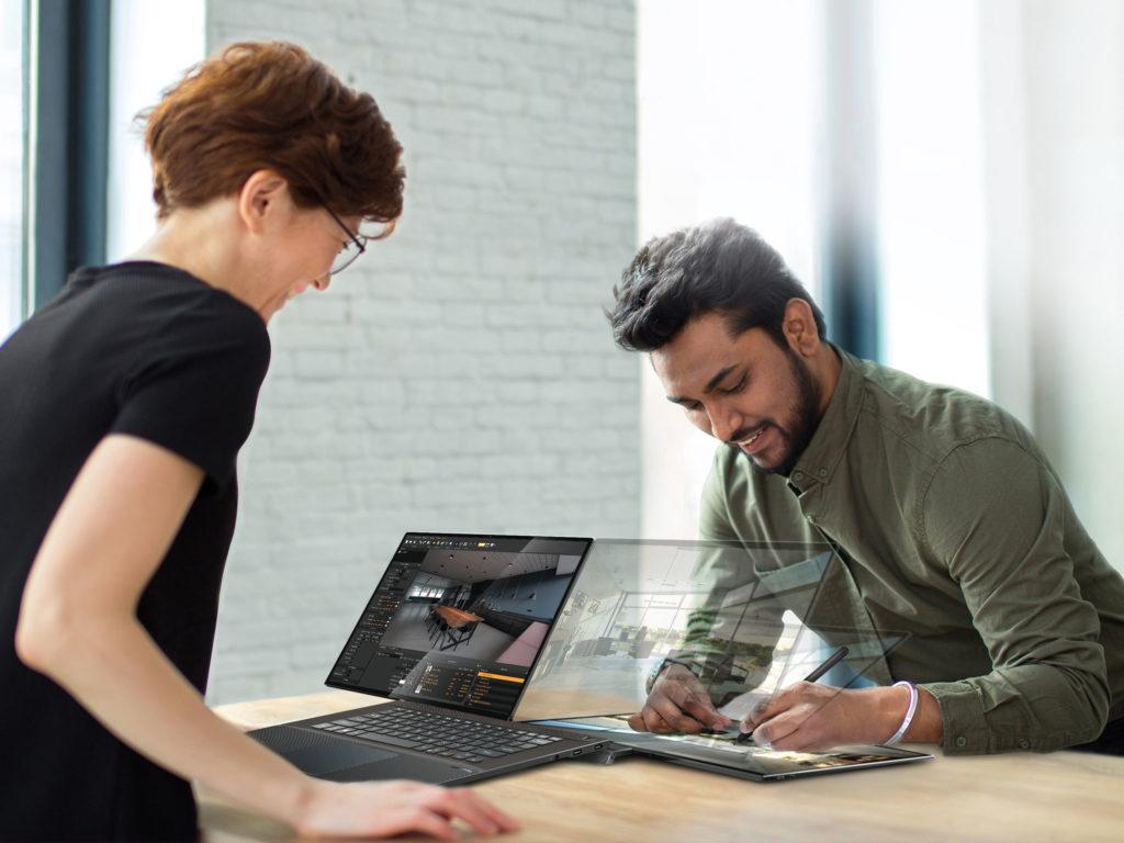 PivoBook FullVision book concept