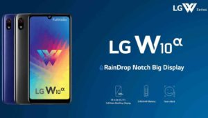 Smartphone LG W10 Alpha was released
