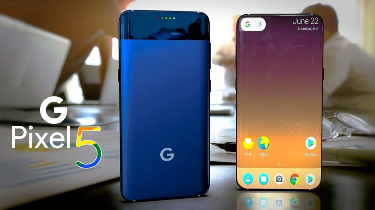 Google Pixel 5 XL presented in the photo long before the announcement