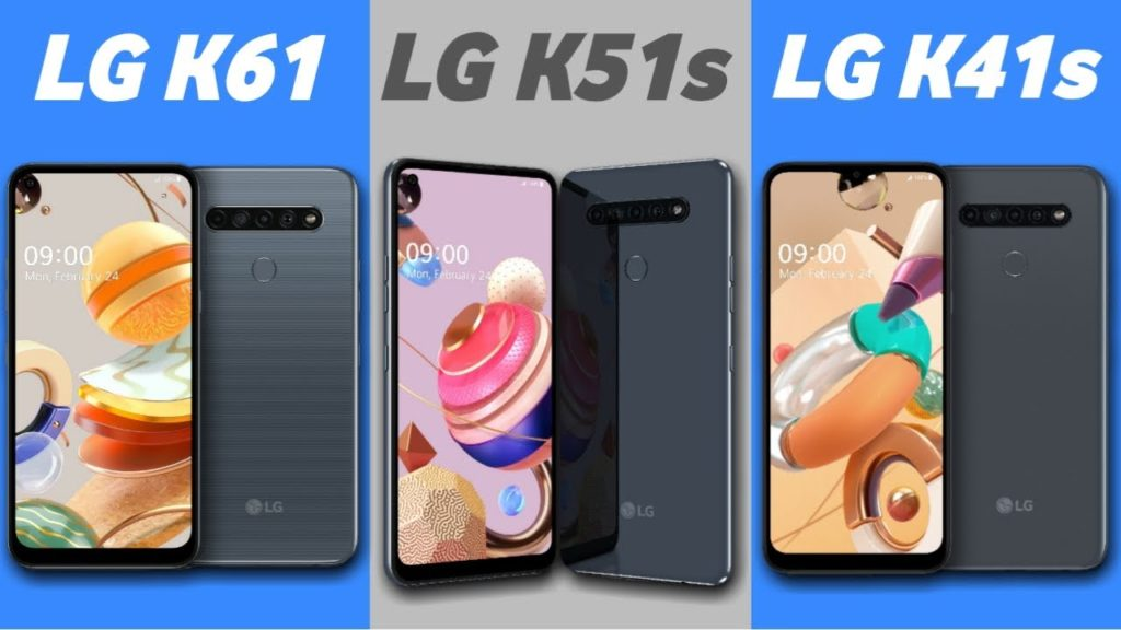 LG K41S, K51S and K61 REAL PHOTOS