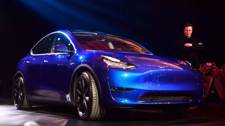 tesla model y really soon
