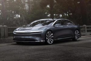 Luxury electric car: Tesla Model S competitor debuted in the US