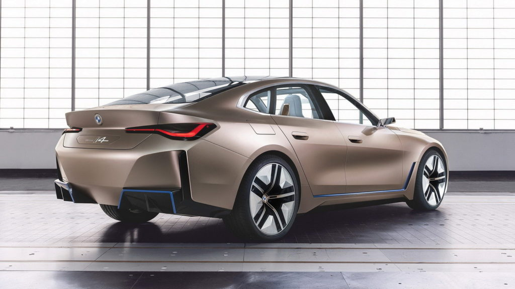 BMW Concept i4: view from the rear