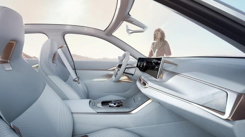 BMW Concept i4: console