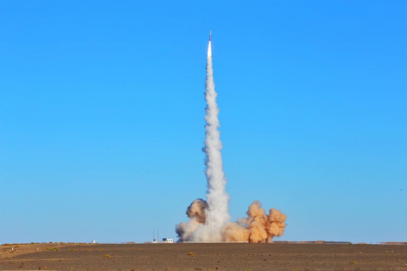 Rocket Launch ZQ-1