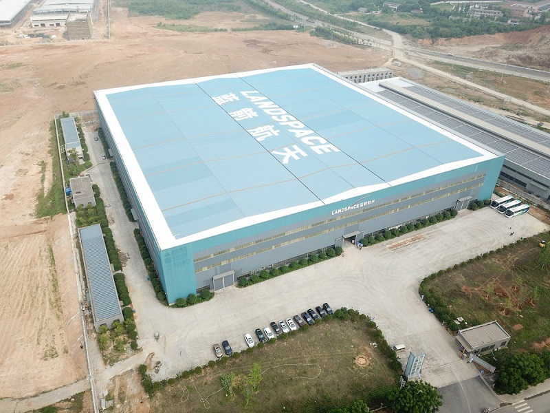 Aerial view of Huizhou LandSpace manufacturing facility