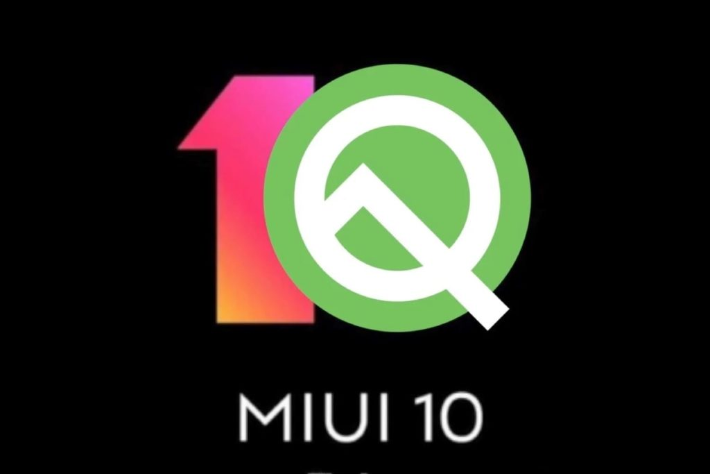 official view of Android 10