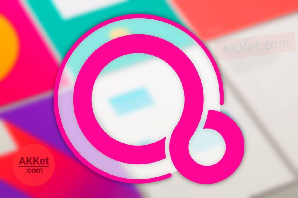 Wallpapers of Fuchsia OS