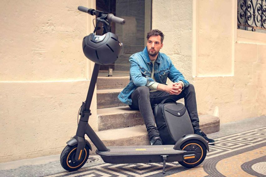 Ninebot KickScooter MAX G30P is a new electric scooter with long range and high speed