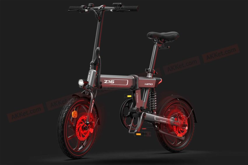 Xiaomi released the Himo Z16 electric bike with a power reserve of 80 km
